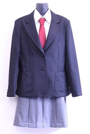 逗葉高等学校制服画像