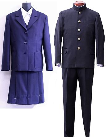 横須賀大津高等学校制服画像