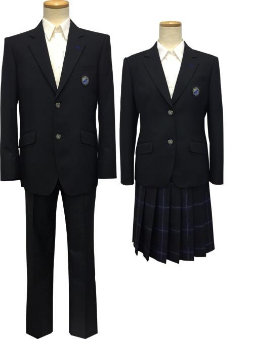 大楠高等学校制服画像