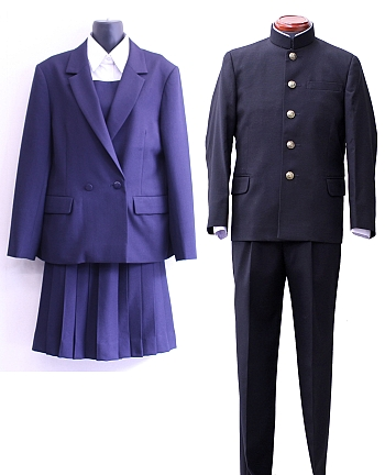 追浜高等学校制服画像